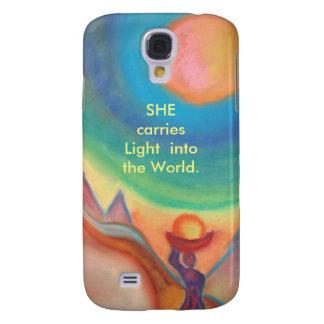 Woman Light Samsung case