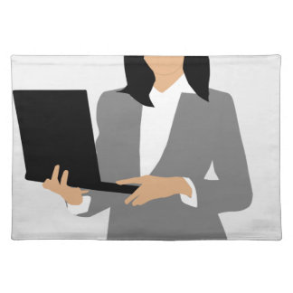 Woman Manager Placemat