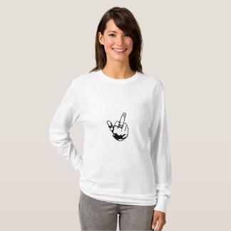 Woman middle finger T-Shirt