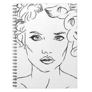 woman notebooks