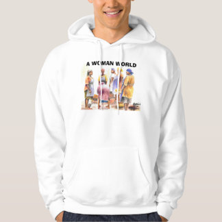 woman of african 2, A WOMAN WORLD Hoodie