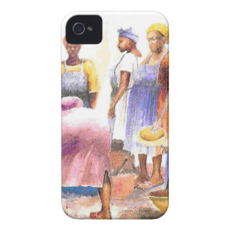woman of african 2 iPhone 4 Case-Mate case