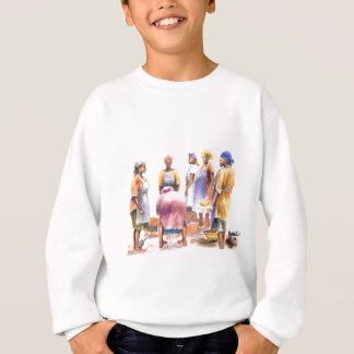woman of african 2 sweatshirt