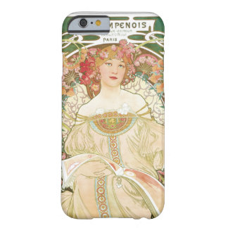 Woman of Leisure Alphonse Mucha Illustration Barely There iPhone 6 Case