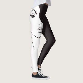 Woman of Power Silhouette Leggings