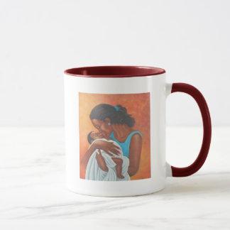 Woman of the islands mug