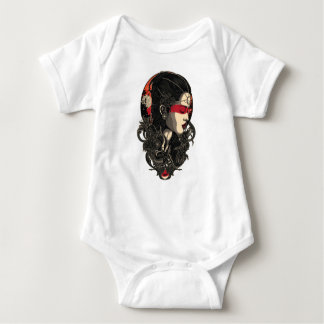 Woman of the Rising Sun Baby Bodysuit