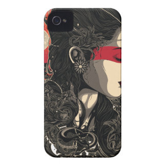 Woman of the Rising Sun iPhone 4 Case