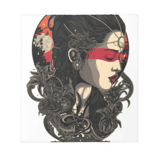 Woman of the Rising Sun Notepad