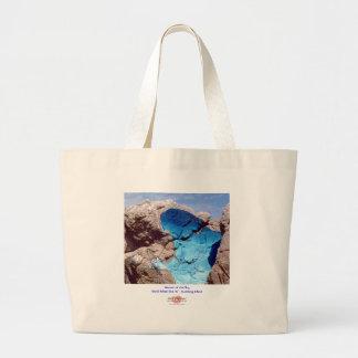 Woman of the Sky 1/Bag Large Tote Bag