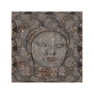 """Woman of the tribe 12"""" x 12"""", 1.5"""", Single Canvas Print"""