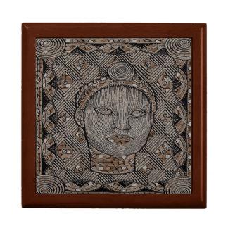 Woman of the tribe Gift Box, Golden Oak Gift Box