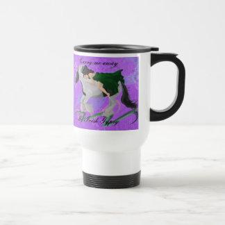 Woman on Horseback Mug