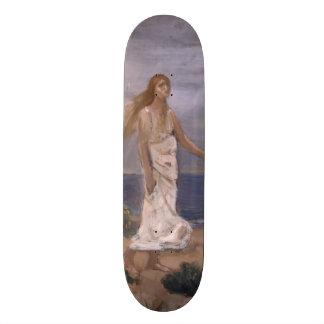 Woman on the Beach by Puvis de Chavannes Skate Board Decks