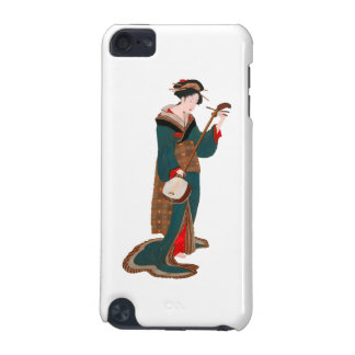 Woman Plaing Music iPod Touch 5G Cases