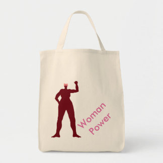 Woman Power Tote Bag