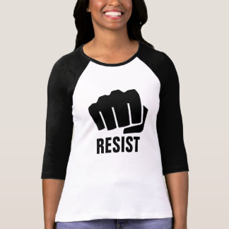 Woman Protester | Resist T-Shirt