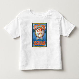 Woman Riding Ferry - Victoria, BC Canada Toddler T-shirt