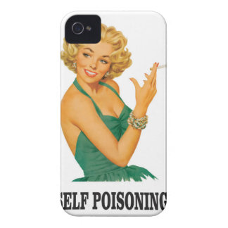 woman self poisoning iPhone 4 Case-Mate case