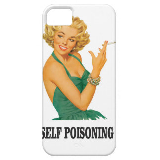 woman self poisoning iPhone 5 cases