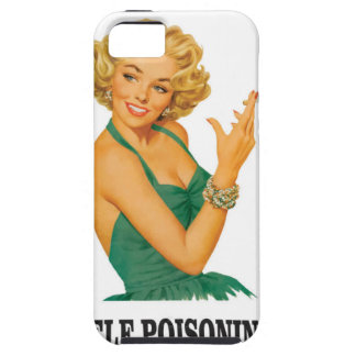 woman self poisoning iPhone 5 covers