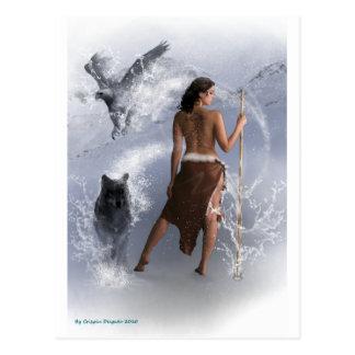 Woman Shaman Post Card