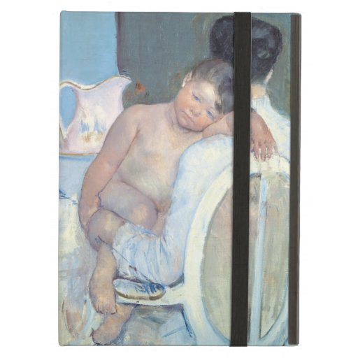 Woman Sitting with Child in Her Arms Mary Cassatt iPad Air Case
