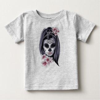 Woman skeleton mask baby T-Shirt