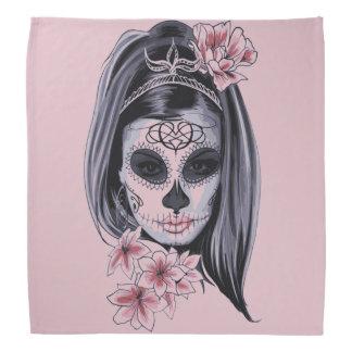 Woman skeleton mask bandana