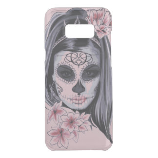 Woman skeleton mask uncommon samsung galaxy s8 plus case