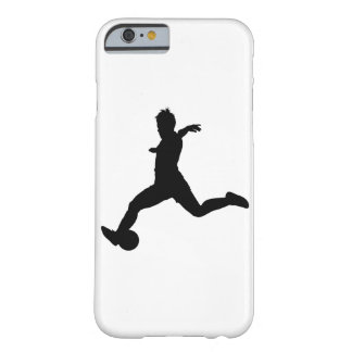 Woman Soccer Player Barely There iPhone 6 Case