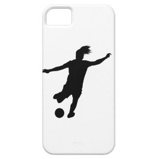 Woman Soccer Player iPhone 5 Cover