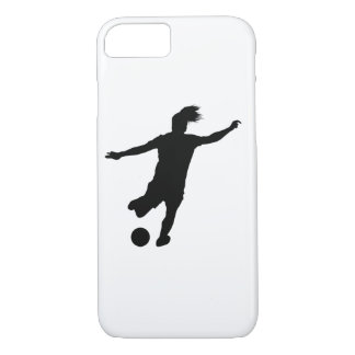 Woman Soccer Player iPhone 8/7 Case