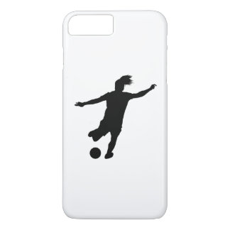 Woman Soccer Player iPhone 8 Plus/7 Plus Case