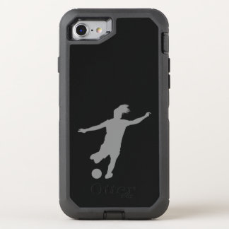 Woman Soccer Player OtterBox Defender iPhone 8/7 Case