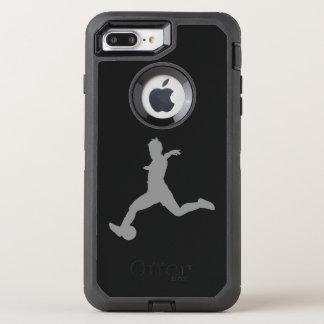 Woman Soccer Player OtterBox Defender iPhone 8 Plus/7 Plus Case