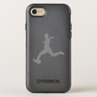Woman Soccer Player OtterBox Symmetry iPhone 8/7 Case