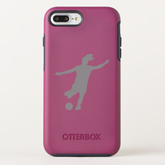 Woman Soccer Player OtterBox Symmetry iPhone 8 Plus/7 Plus Case