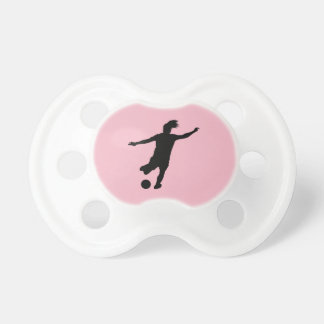 Woman Soccer Player Pacifier