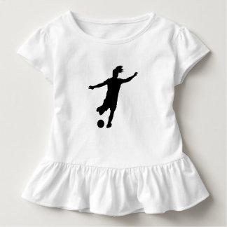 Woman Soccer Player Toddler T-shirt