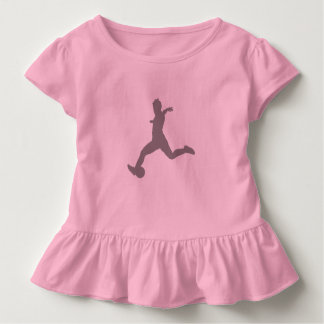 Woman Soccer Player Toddler T-shirt