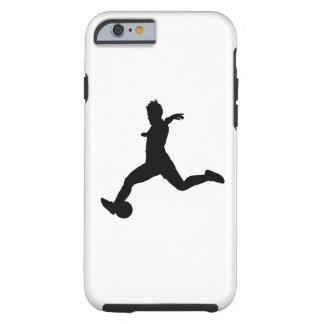 Woman Soccer Player Tough iPhone 6 Case