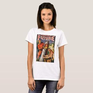 Woman Stuck in Rocket T-Shirt