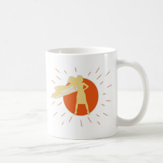 woman-superstar coffee mug