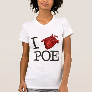 "Woman T-Shirt ""Poe Heart """