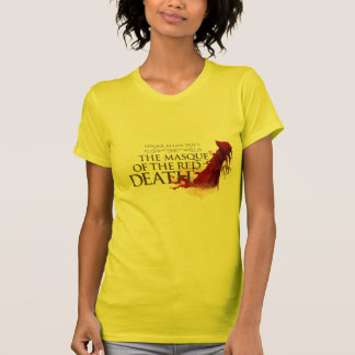 """Woman T-Shirt """"The Masque of the Network Death """""""