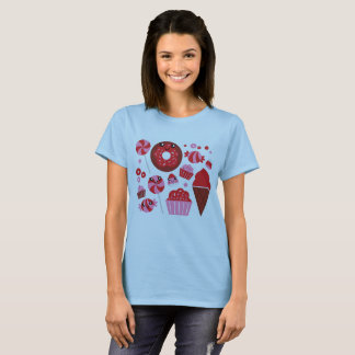 Woman t-shirt with Donuts