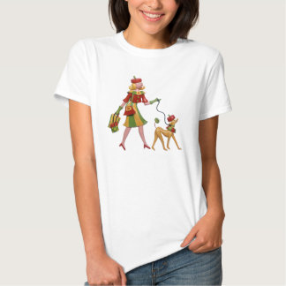 Woman the Dog in Style T-shirt