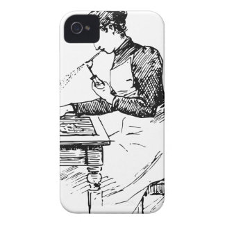 Woman Using Old Airbrush Case-Mate iPhone 4 Case
