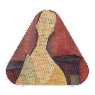 Woman with a Fan  1919 Speaker